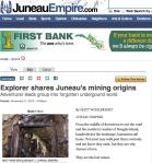 Explorer shares Juneau's mining origins