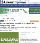 Protective order issued, school official resigns day later